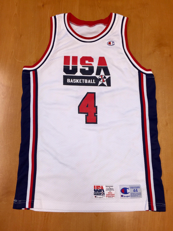 Vintage 1994 Joe Dumars Dream Team USA Authentic Champion  0951c5c5f