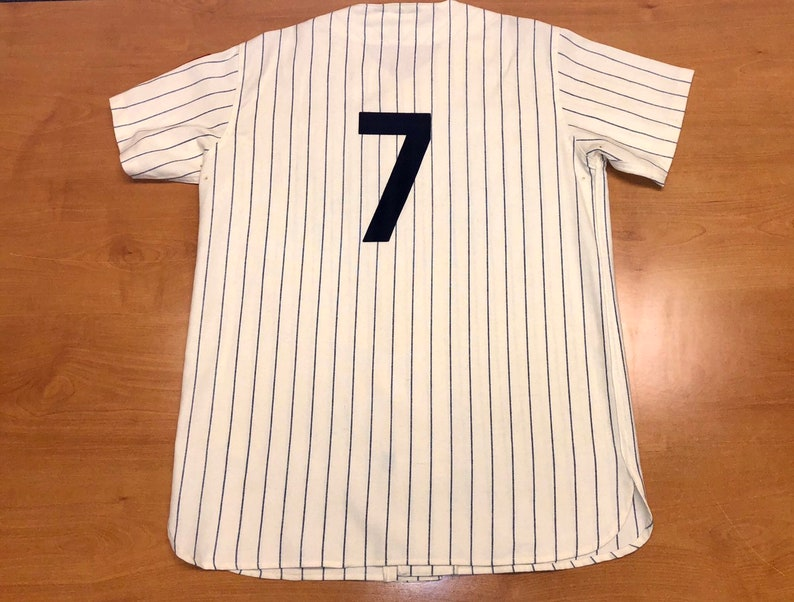 reputable site dbacb 4eb6a Vintage 1990s New York Yankees Mickey Mantle Mitchell & Ness Jersey joe  dimaggio torre david wells cone mariano rivera bernie williams mlb
