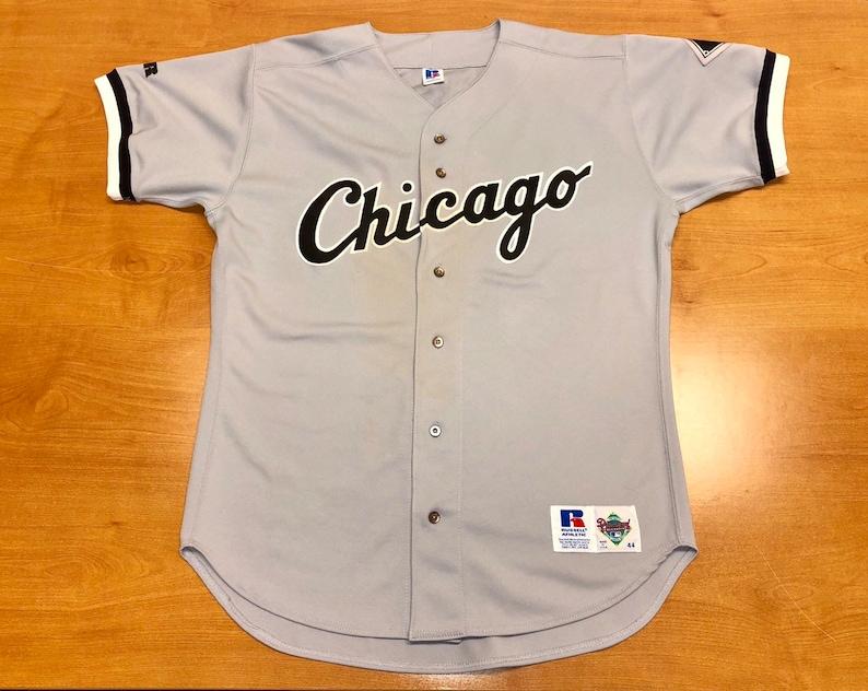 big sale 6acc1 1d23d Vintage 1992 - 1996 Chicago White Sox Authentic Russell Diamond Collection  Jersey Size 44 michael jordan bo jackson jose abreu tim anderson
