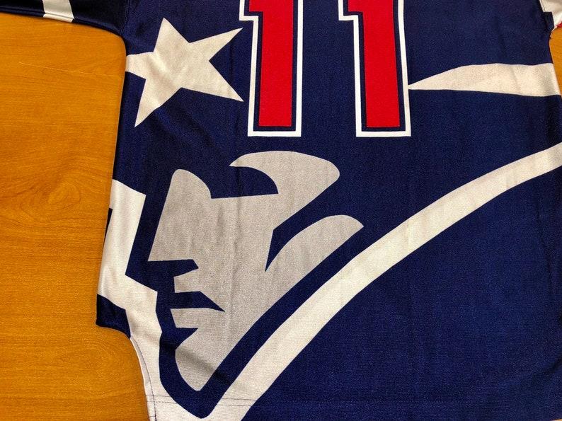 bd5006819 Vintage 1996 Drew Bledsoe New England Patriots Starter Jersey