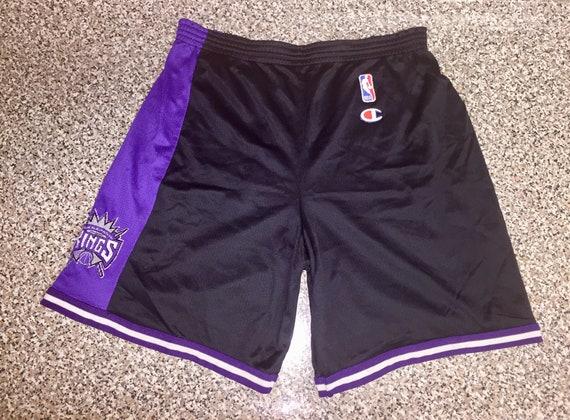 6d5474f07 Vintage 90s Sacramento Kings Champion Shorts jersey mitch