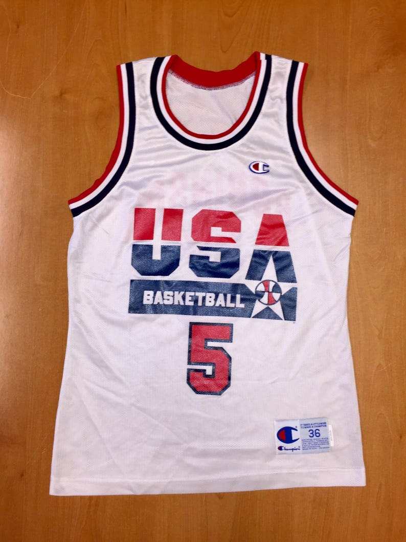 b86a16b9951e Vintage 1992 David Robinson Dream Team Champion Jersey Size 36