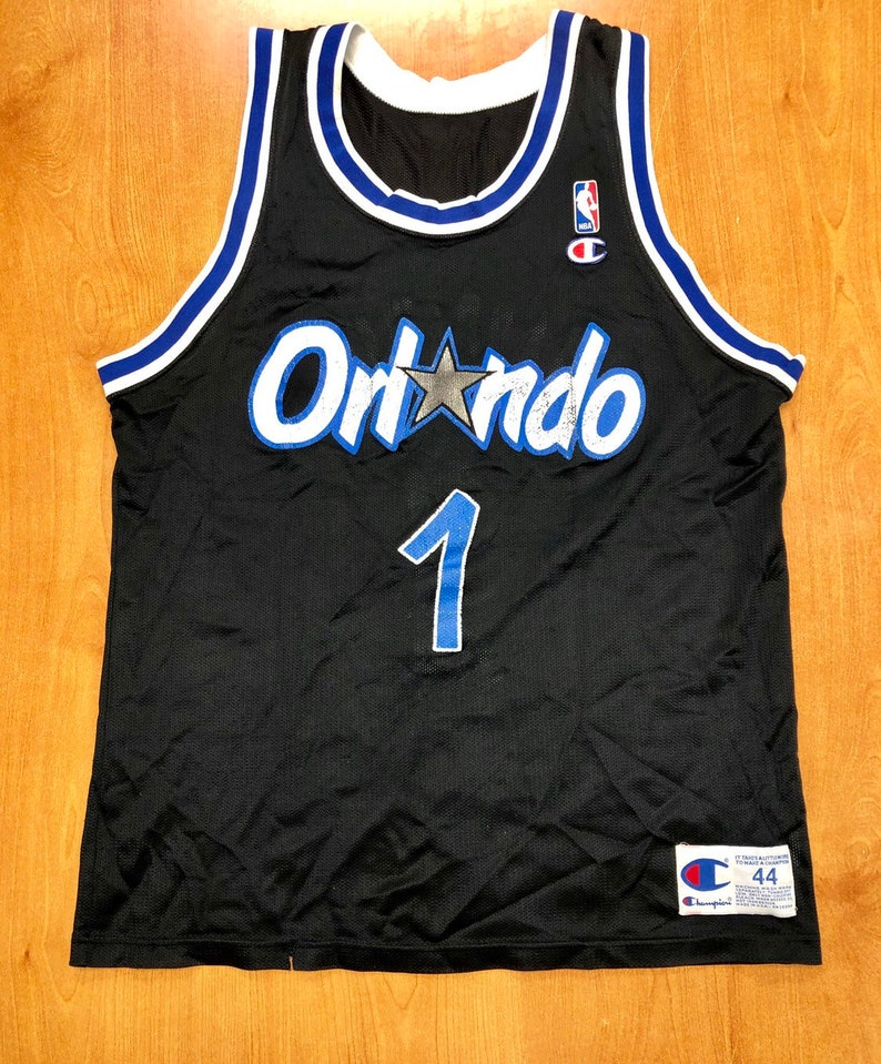 buy online 835b4 8c663 Vintage 1993 - 1997 Penny Hardaway Orlando Magic Champion Jersey Size 44  shaquille o'neal darrell armstrong shirt suns memphis tigers nba