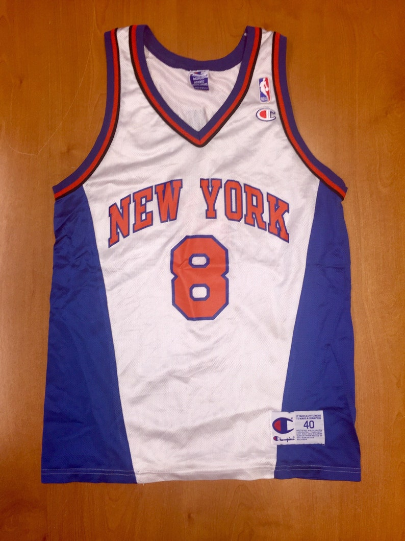 online store 44de2 cbc7d Vintage 1998 Latrell Sprewell New York Knicks Champion Jersey Size 40 hat  shirt charles oakley nba finals penny hardaway alabama tide smith