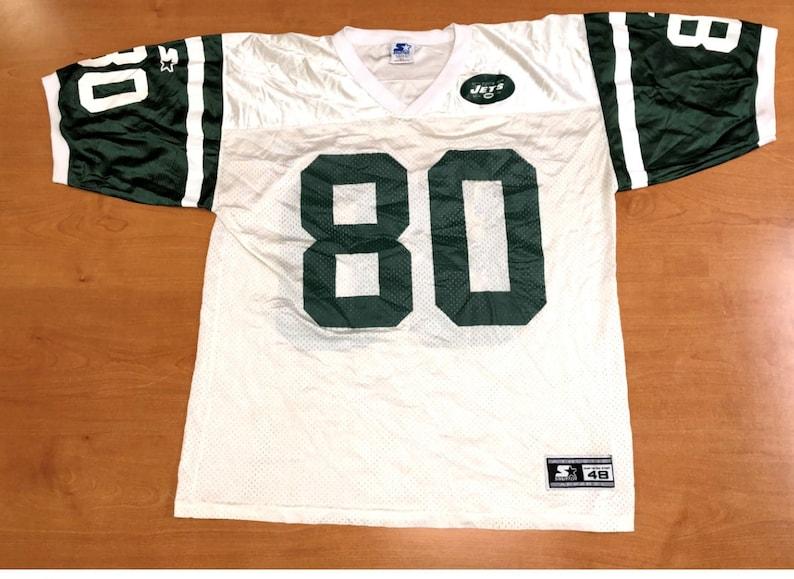 eb3fd4f7 Vintage 1996 Wayne Chrebet New York Jets Starter Jersey Size 48 champion  chad pennington vinny testaverde ladainian tomlinson darrelle revis
