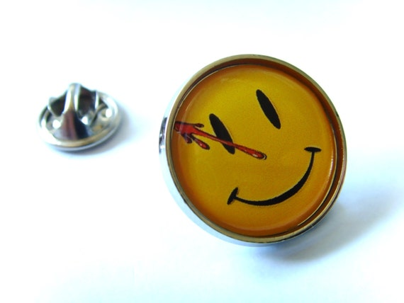 Watchmen Smile Lapel Pin Badge by Etsy