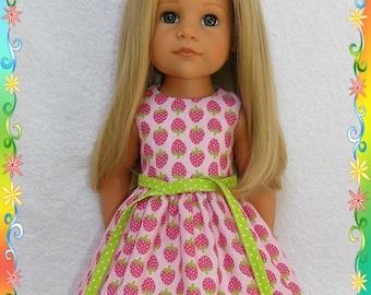 Dress, panties and dress belt for Doll Hannah Gotz 50 cm. 3 pcs.