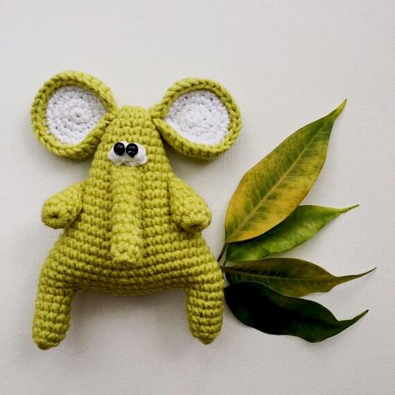 Crochet Elephant/Crochet baby blanket/crochet animal blanket ... | 570x570