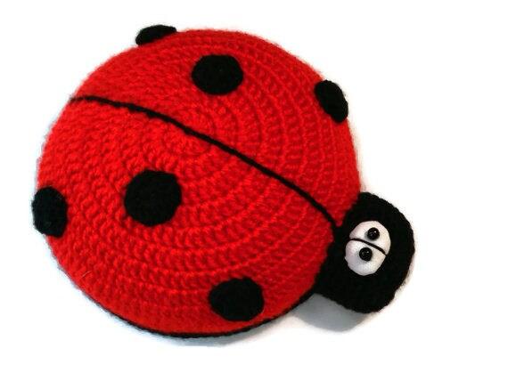 Funny Ladybug,Stuffed Ladybug toy,insects,Handmade plushie,gifts ... | 437x570