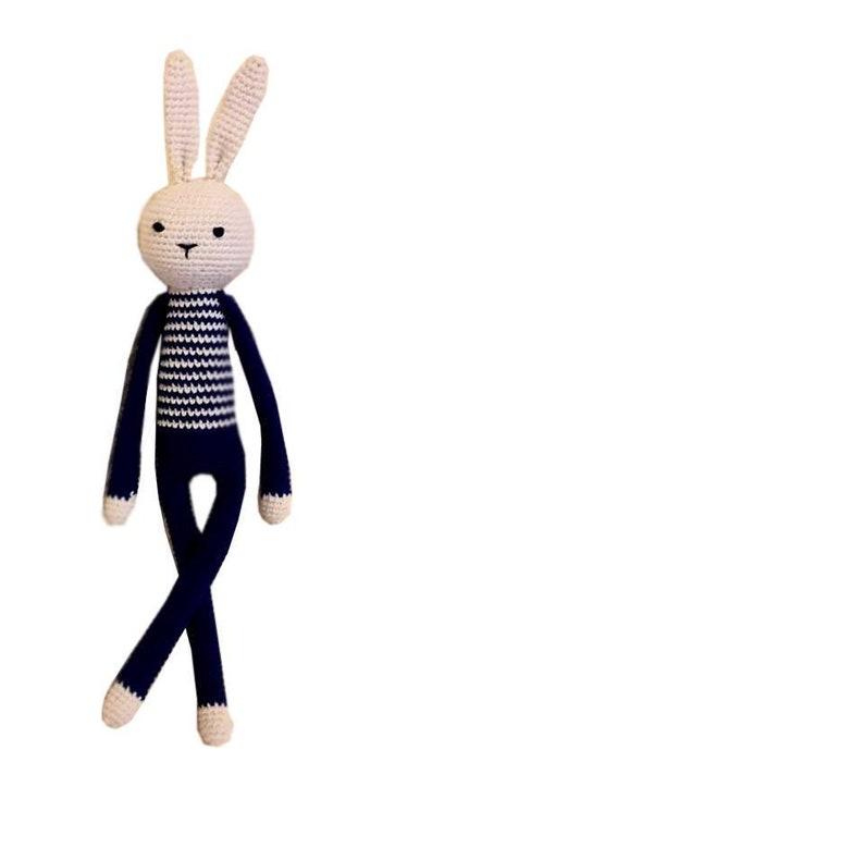Crochet rabbit Bunny Amigurumi Toy Rabbit stuffed Ready to ship