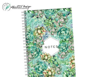 Notes - Motivational Quote Journal Notebook Sketchbook