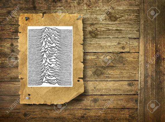 joy division unknown pleasures temporary tattoo etsy. Black Bedroom Furniture Sets. Home Design Ideas