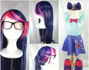 Twilight Sparkle Wig Glasses and Ears