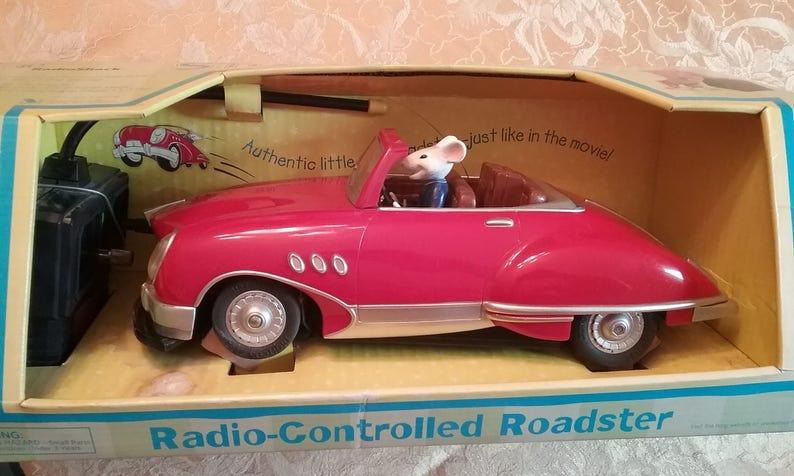Reduced Vintage Stuart Little Roadster Collector S Etsy