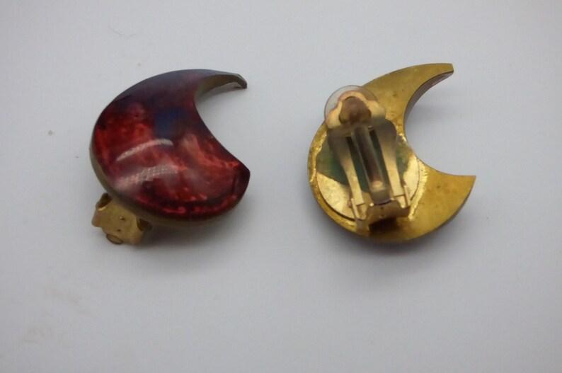 1970s Clip On Earrings