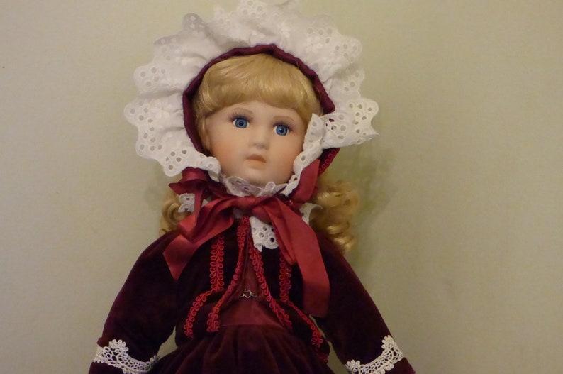 Beautiful Promenade Doll on Stand