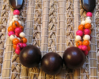 Colorful and original necklace