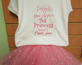 tutu skirt and t shirt