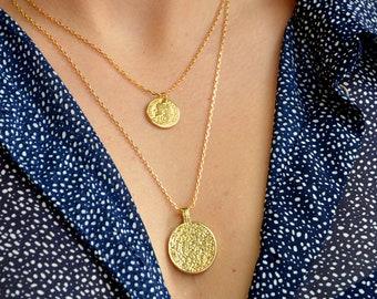 Coin necklace etsy coin necklacenecklaces settwo layer necklacegold coin necklaceboho necklaceslayering necklacesethnic necklacelayered necklaces aloadofball Images