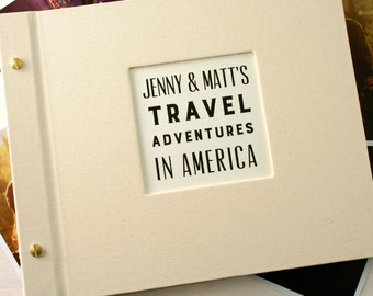 Personalised Travel Photo Album (3 Designs Available)