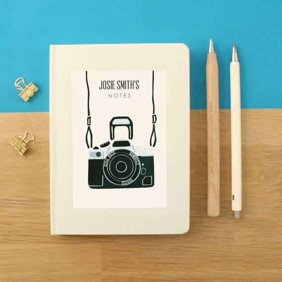 Blocco appunti della fotocamera personalizzabile