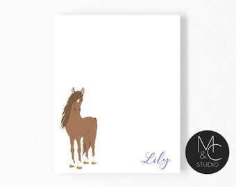 Lot Of 12 Assorted Horse Theme Mini Memo Notepads