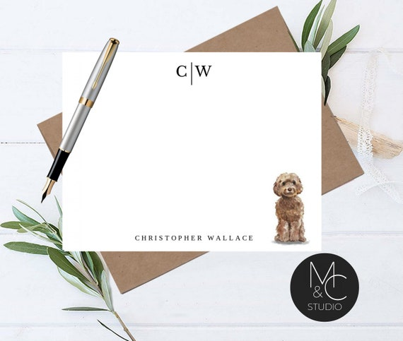 Flat Notecards Stationery Card Set Card Flat NoteCards and Envelopes Set Personalized Stationery Set Personalized Gift for Friend