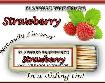 Sugar mom etsy strawberry flavored toothpicks 70 flavors dr seuss candy summer summer trends sugar free red gifts for moms dads grandpa grandma negle Image collections