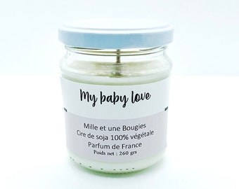 Candle perfume My baby love / 260 gr