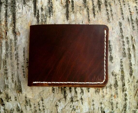 Mens Wallet, ALASKA MADE leather wallet, Minimal leather wallet, high quality leather wallet, mens leather bifold