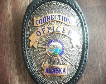 Alaska Department of Corrections Badge Holder