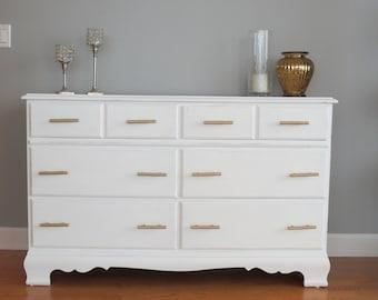 distressed dresser etsy. Black Bedroom Furniture Sets. Home Design Ideas