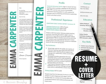 Classy Resume And Cover Letter Template