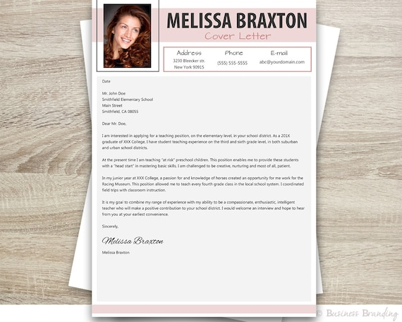 Istant Teacher Resume | Teacher Resume With Photo Resume Cover Letter Template Instant