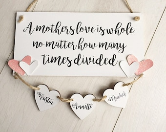 personalised mum sign for christmas special mum christmas gift from your daughter