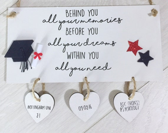 Best selling graduation plaque