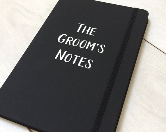 The grooms notebook