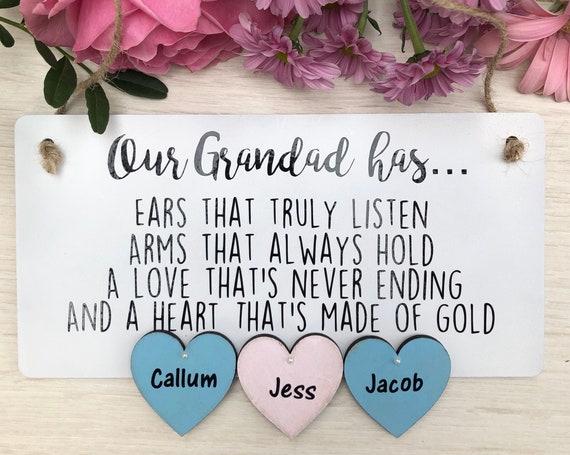Our Grandad has...