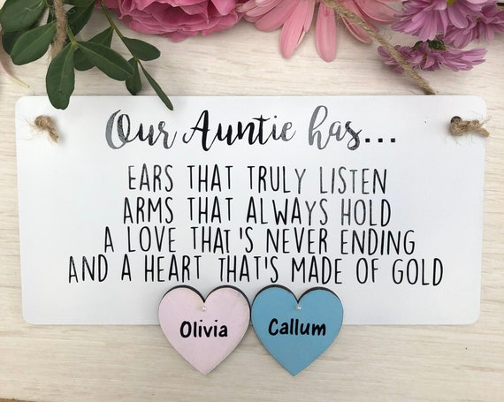 Our Auntie has...