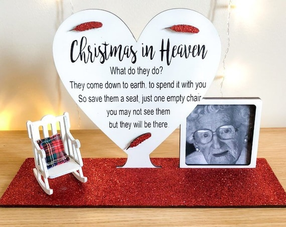 Red christmas in heaven