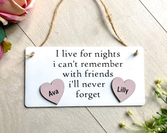 Funny Quote For Friend An Old Special Best Gift Birthday Present Personalised Sign