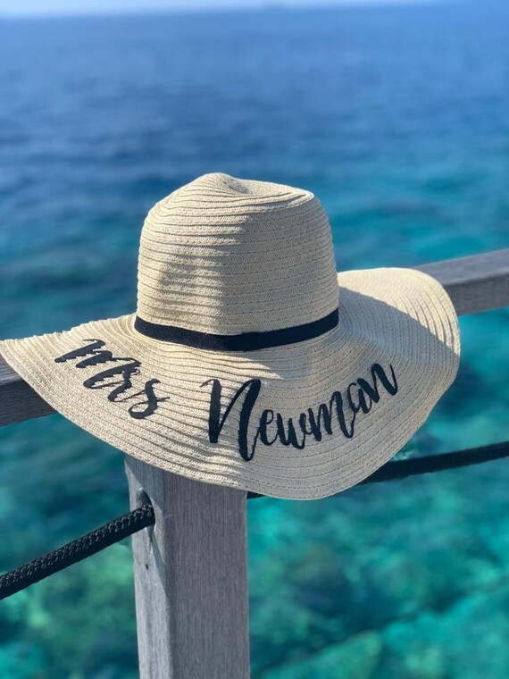 Personalised floppy hat