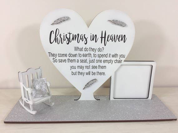 Silver Christmas in heaven