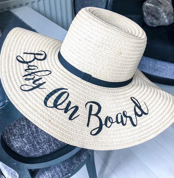 Babymoon sun hat