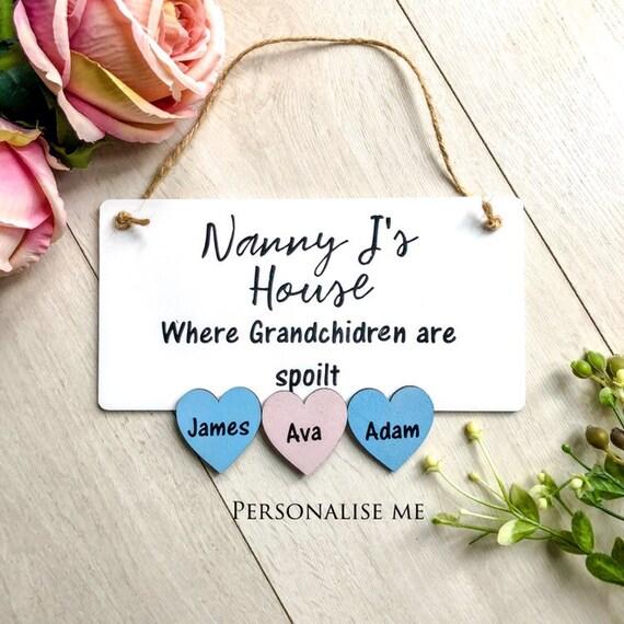 Nanny's house...