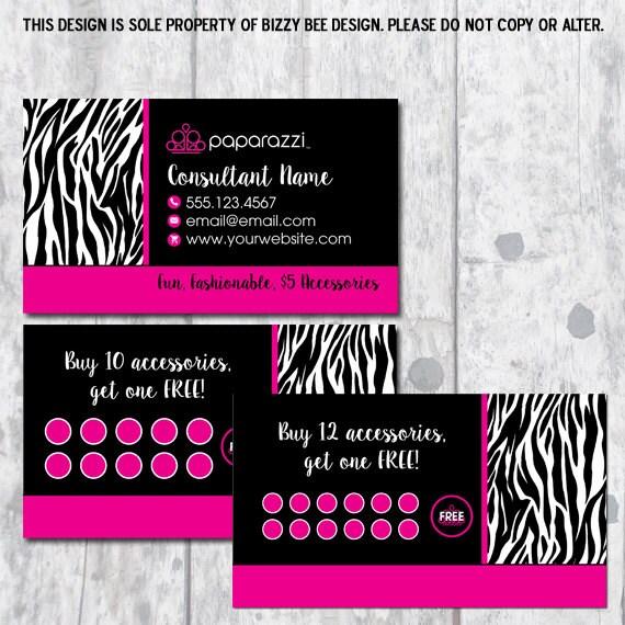Paparazzi Jewelry Business Card Digital Download