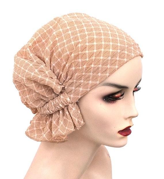 f33c343acf8 The Abbey Cap® 522 Sprink Beige Pretty Checkered Knit