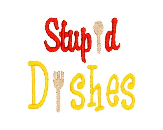 Kitchen Apron Dish Towel Machine Embroidery Design Stitch Etsy