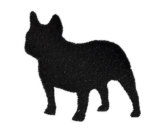 Bulldog Stickmuster 3 Hund Downloads französische | Etsy