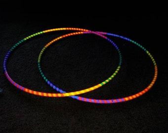 Slinky reflective hula hoop of custom choice